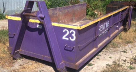 4 yard dumpster bin rental